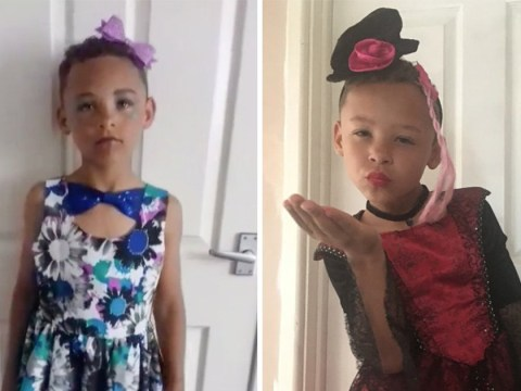 8-year-old boy loves transforming himself into his drag alter ego Francesca