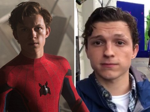 Tom Holland teases with water stunt in behind-the-scenes clip from Spider-Man 2