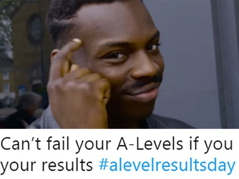 Everyone is feeling absolutely fine about getting their A-level results today