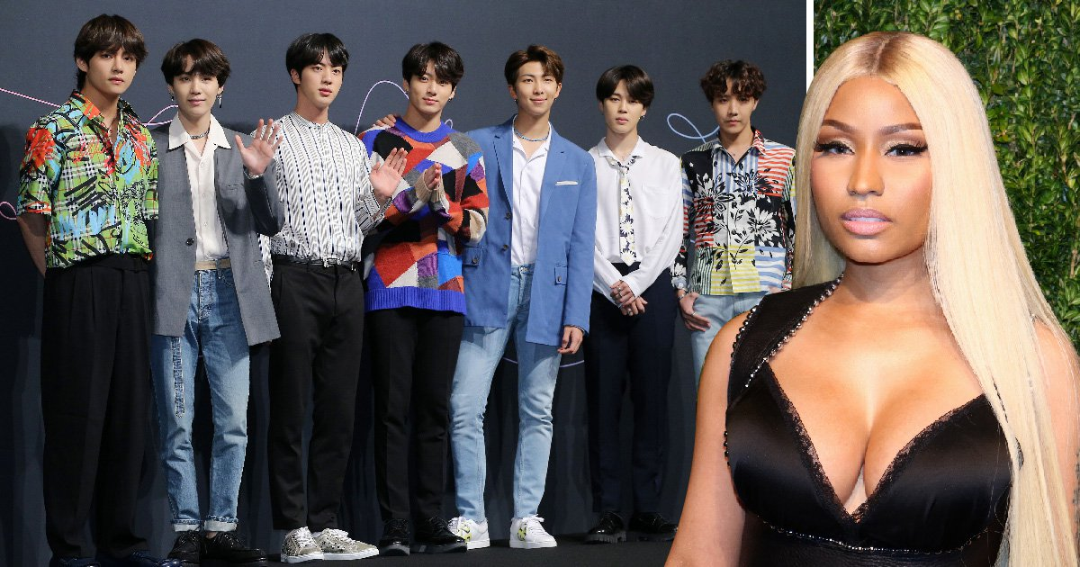 BTS and Nicki Minaj collaboration confirmed as rapper will appear on Idol