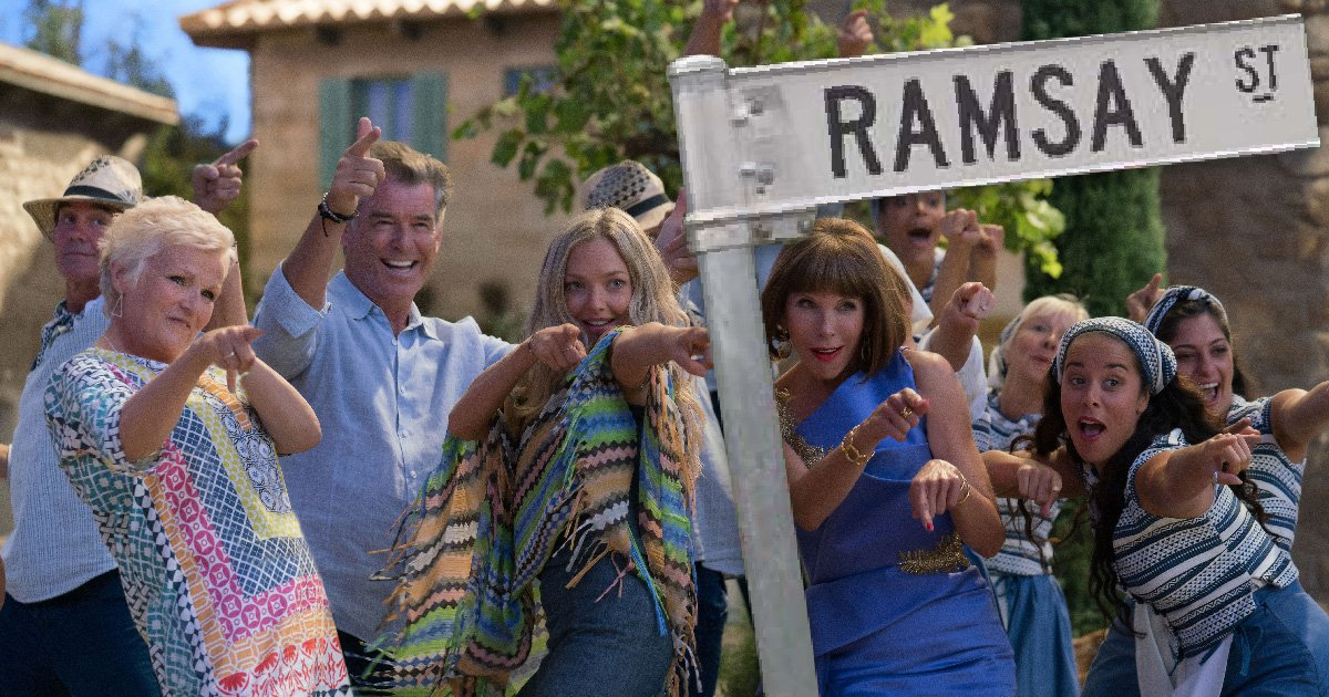 There was a Neighbours reference in Mamma Mia: Here We Go Again – did you spot it?