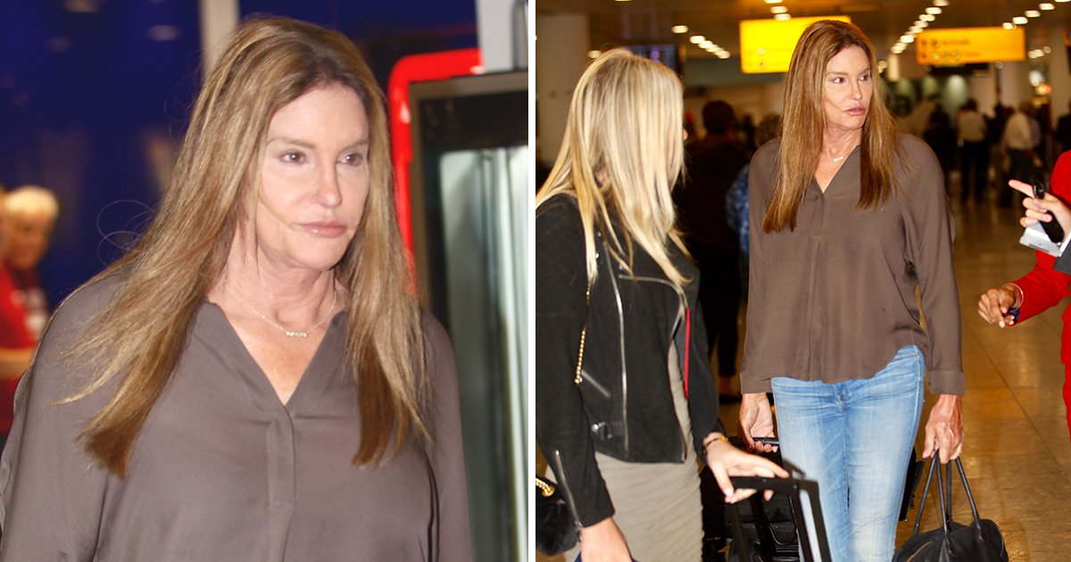 Caitlyn Jenner sparks rumours she's entering CBB as she lands in Heathrow airport