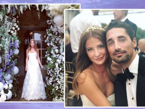 Millie Mackintosh shares new photos from fairytale wedding to Hugo Taylor