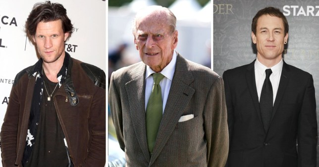 Matt Smith jokes about pay gap as he gives new Prince Philip advice
