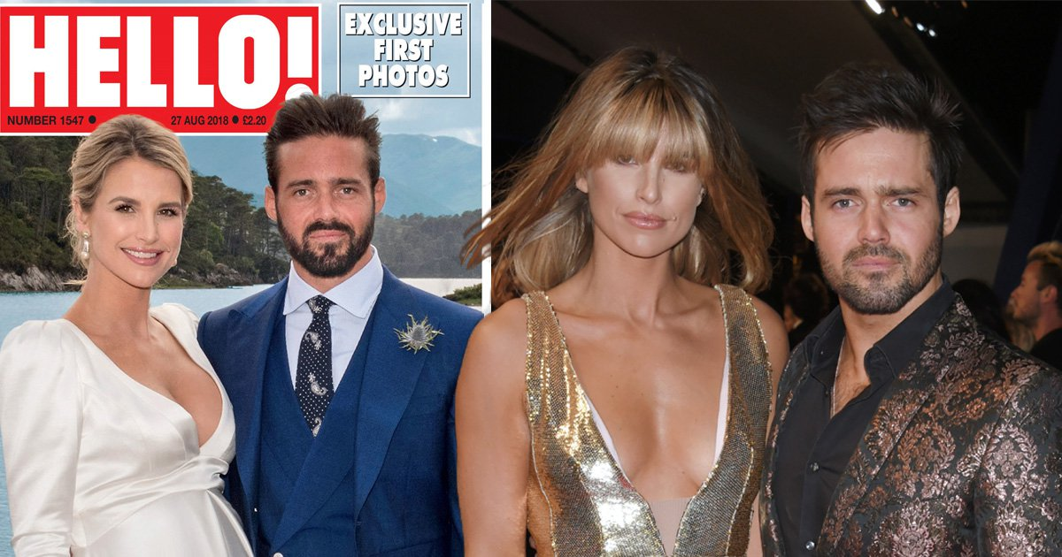 Spencer Matthews suffered every groom's worst nightmare while marrying Vogue Williams