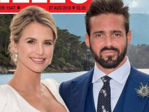 Vogue Williams reveals beautiful wedding gown months after marrying Spencer Matthews
