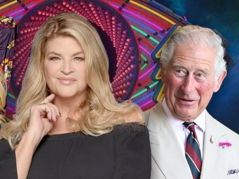 Celebrity Big Brother's Kirstie Alley ate snacks with Prince Charles and Courtney Love and this is what dreams are made of