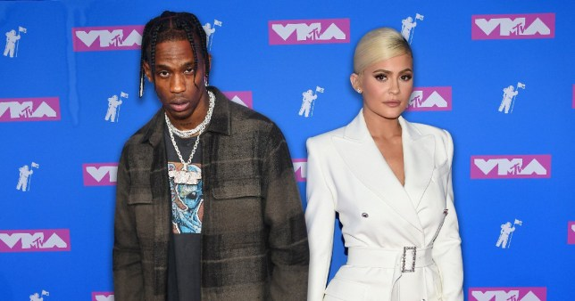 Kylie Jenner and Travis Scott pose separately at VMAs | Metro News