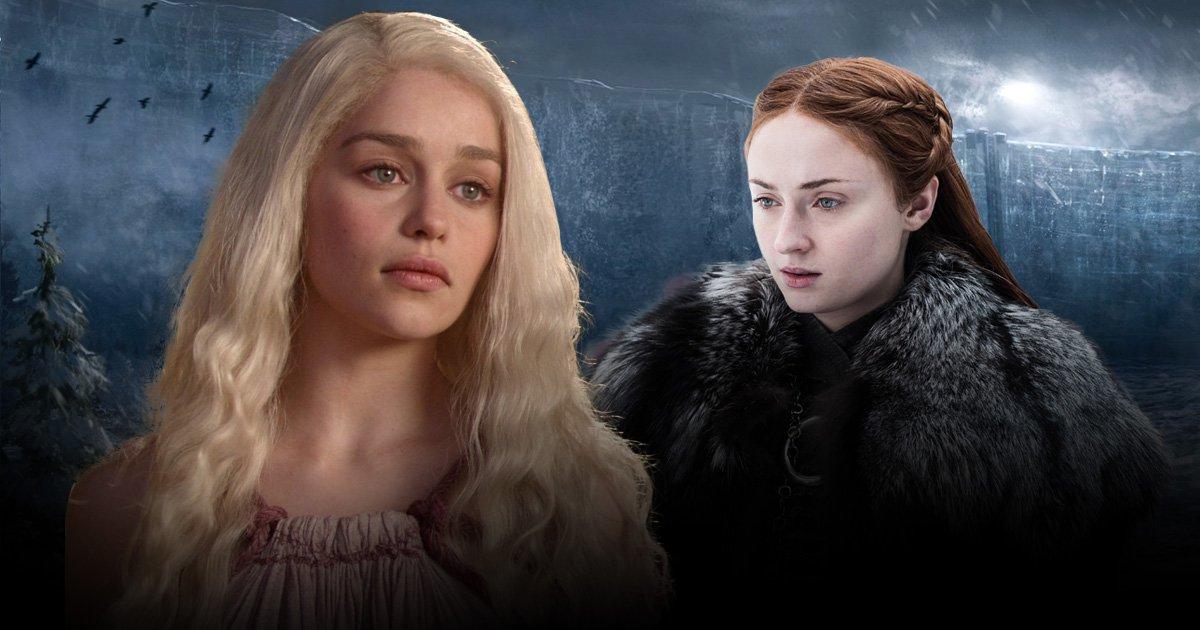 Game of Thrones fans are loving this girl power connection between Sansa Stark and Daenerys Targaryen
