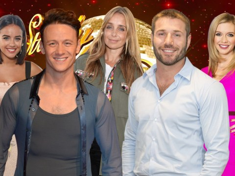 Which celebrities were hit by the Strictly Come Dancing curse?