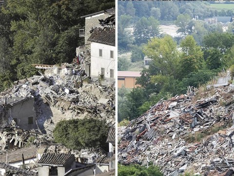 Italian town destroyed in earthquake two years ago is still in ruins