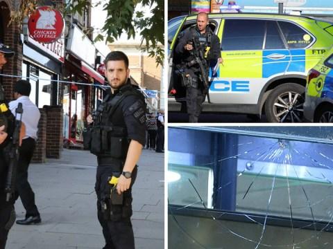 Two men shot outside Tube station in latest London violence