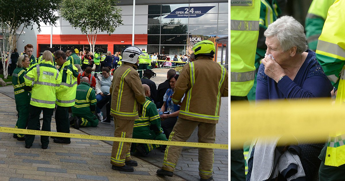 Hundreds evacuated from Glasgow shopping centre after 'chemical smell' detected