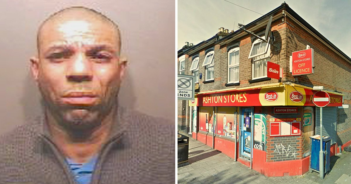 Robber jailed after falling into shop and having mask ripped off by staff