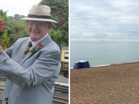 Pensioner walked into the sea and drowned after receiving letter from police