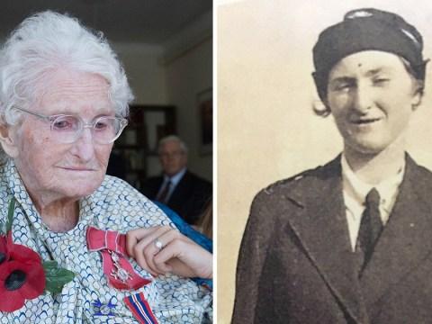 Britain's longest-serving poppy seller dies just days after receiving MBE