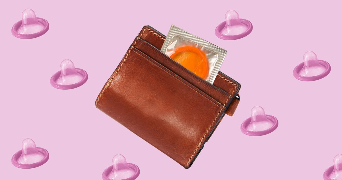Why you should never keep a condom in your wallet or pocket