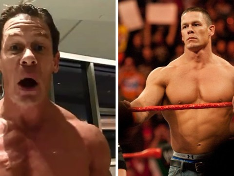 John Cena's bulging muscles are distracting in shock reveal for WWE comeback match