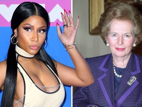 Nicki Minaj thinks she's like Margaret Thatcher for 'ruffling a few feathers'