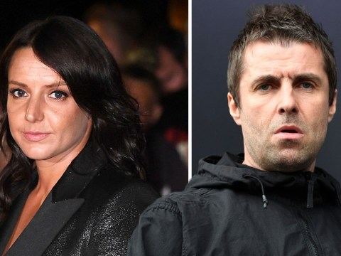 Liam Gallagher and girlfriend Debbie Gwyther categorically deny he 'grabbed her by the throat during blazing row'