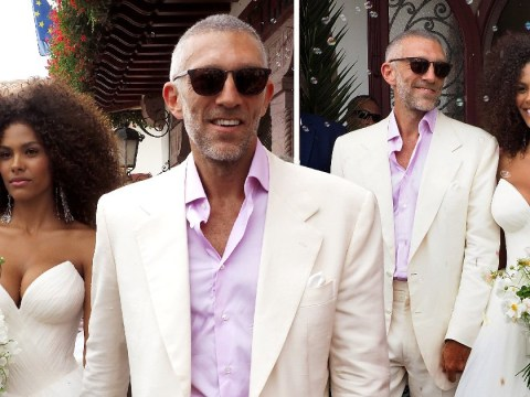 Black Swan star Vincent Cassel, 51, marries 21-year-old model Tina Kunakey