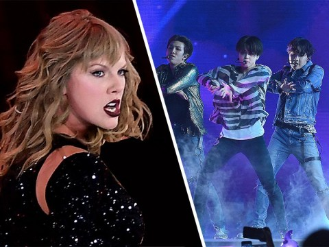 BTS smash Taylor Swift's music video record as Idol racks up 56 million views in the first day