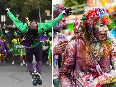 People were up early to start Notting Hill Carnival celebrations