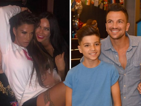 Peter Andre treats Junior and Princess to a summer holiday in Florida while Katie Price takes 'make or break' trip with beau Kris Boyson