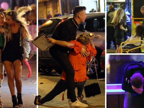 Bank holiday looked like a lot of fun for these people in Blackpool