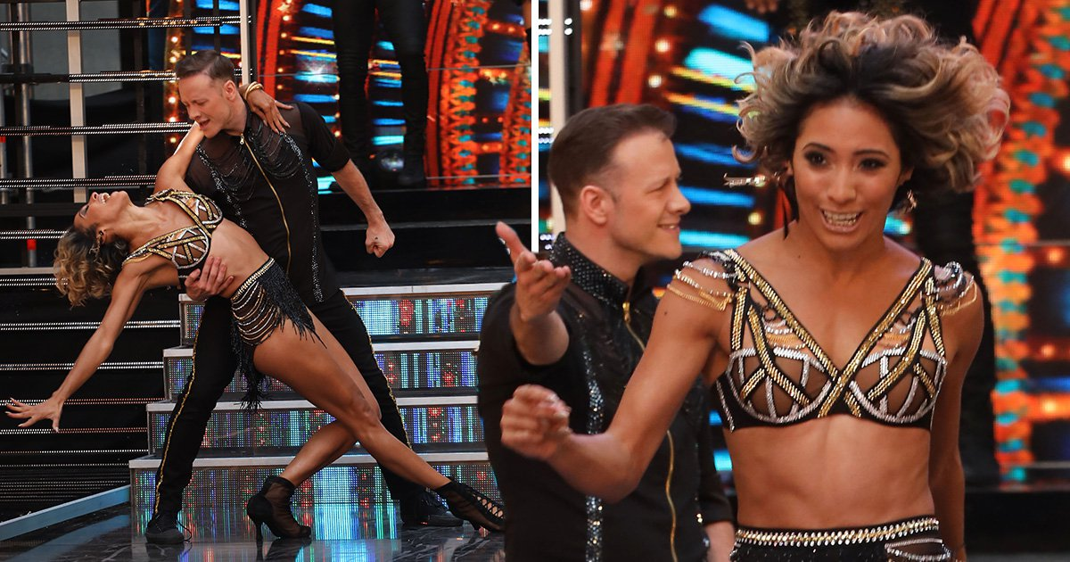 Strictly Come Dancing's Kevin and Karen Clifton pictured dancing together after cancelling joint tour