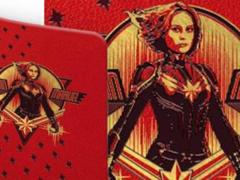 Captain Marvel notebook gives us the best glimpse of character yet