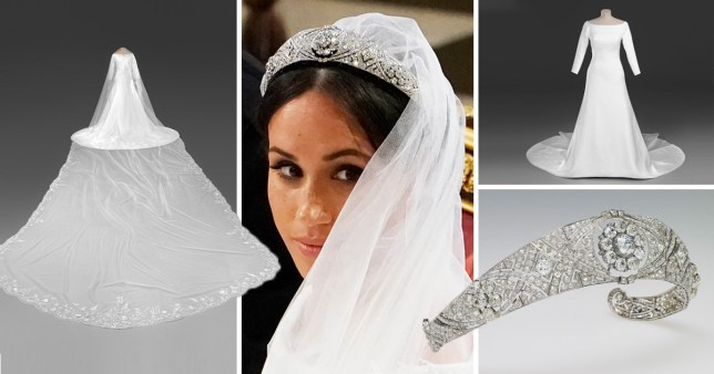 Meghan Wedding Dress.Meghan Markle S Wedding Dress On Public Display In Royal Wedding