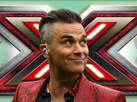 Robbie Williams vomited after trying to be Mr Nasty for The X Factor auditions