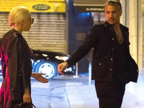 Lady Gaga covers up on date night with boyfriend Christian Carino after posting naked photos