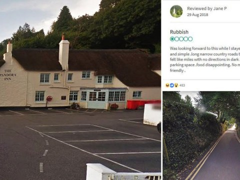 Country pub slammed on Tripadvisor because it's 'hard to get to it'