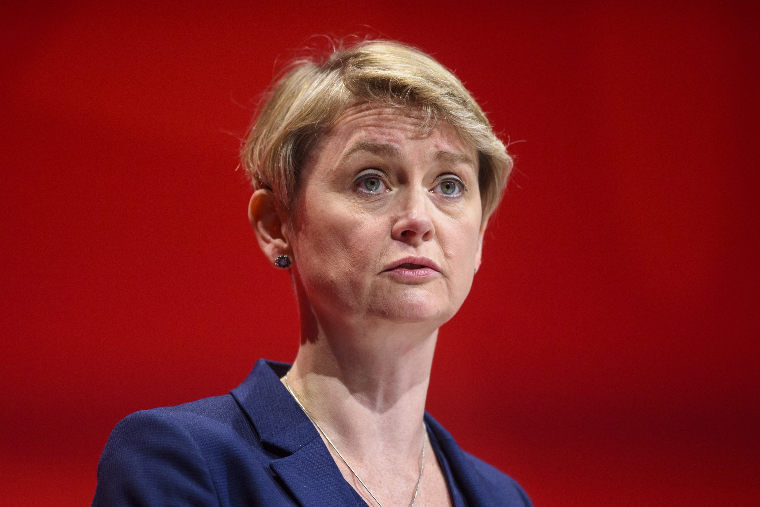 Yvette Cooper MP speaks during the fourth day of the Labour Party conference in Liverpool. Picture date: Wednesday September 28, 2016. Photo credit should read: Matt Crossick/ EMPICS Entertainment.