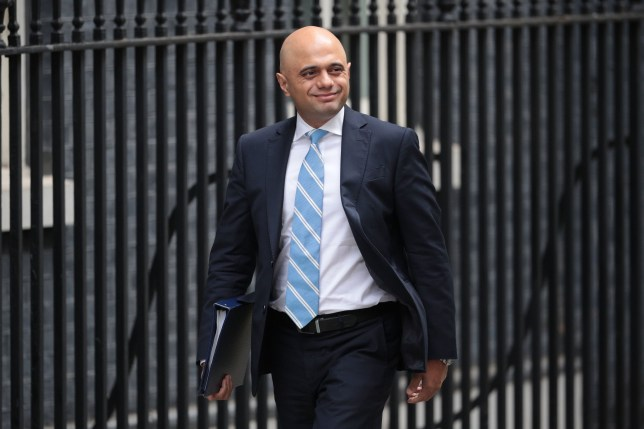 LONDON, ENGLAND - JULY 10: Home Secretary Sajid Javid arrives for a cabinet meeting at 10 Downing Street, on July 10, 2018 in London, England. Ministers are meeting for a cabinet meeting after the Prime Minister was forced to carry out a reshuffle following the high profile resignations of Boris Johnson and David Davis over her controversial Brexit strategy. (Photo by Dan Kitwood/Getty Images)