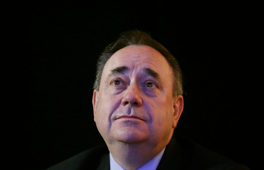 File photo dated 16/10/15 of former SNP leader Alex Salmond, who has been dropped from plans for a takeover of the newspaper group which publishes the Scotsman and the i, it has emerged. PRESS ASSOCIATION Photo. Issue date: Friday July 27, 2018. Norwegian investor Christen Ager-Hanssen had previously said he planned to make the former Scottish first minister the chairman of the board at Johnston Press. See PA story MEDIA Salmond. Photo credit should read: Danny Lawson/PA Wire