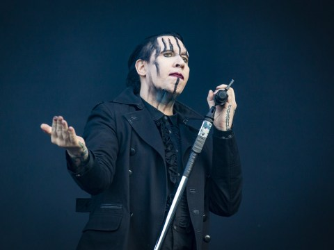 Marilyn Manson thanks fans for support after collapsing on stage during Houston gig
