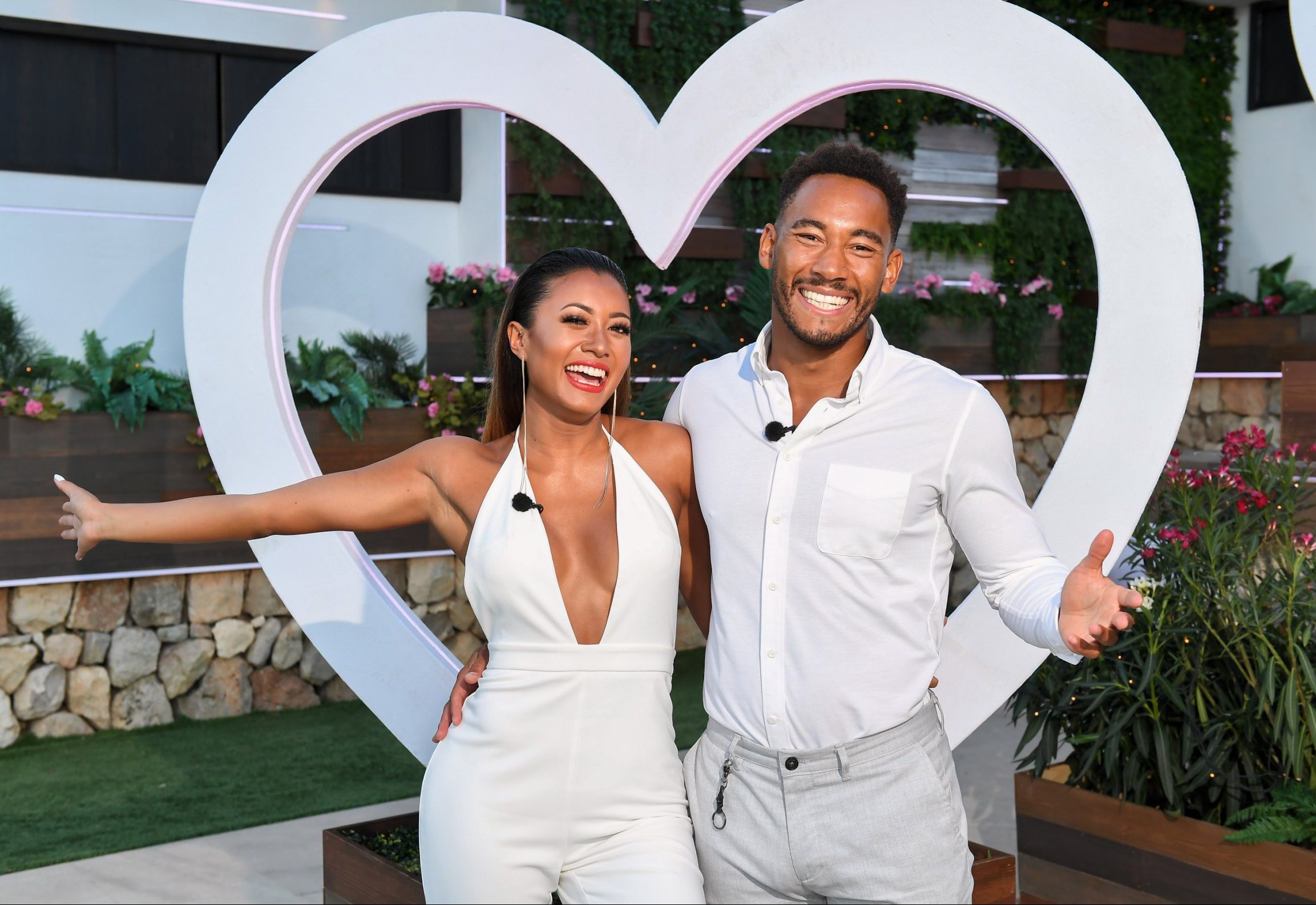 Editorial Use Only. No Merchandising. No Commercial Use Mandatory Credit: Photo by James Gourley/ITV/REX/Shutterstock (9773969ap) Kazimir Crossley and Josh Denzel 'Love Island' TV Show, Series 4, Episode 57, The Final, Majorca, Spain - 30 Jul 2018