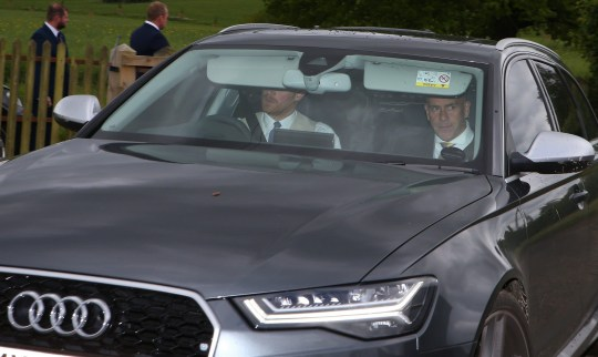 * Stock* * Harry's Audi RS6 is up for sale on Auto Trader with a mere 4,464 miles on it. * HRH Prince Harry seen leaving the Pippa Middleton and James Matthews wedding early to collect girlfriend Meghan from Kensington Palace and then to take her to the evening reception. WORLDWIDE RIGHTS Pictured: Prince Harry Ref: SPL4179170 200517 NON-EXCLUSIVE Picture by: FlynetPictures.co.uk / SplashNews.com Splash News and Pictures Los Angeles: 310-821-2666 New York: 212-619-2666 London: 0207 644 7656 Milan: +39 02 4399 8577 Sydney: +61 02 9240 7700 photodesk@splashnews.com World Rights