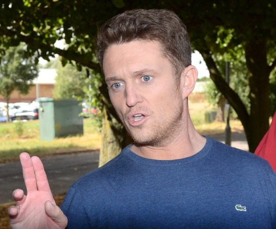 Former English Defence League (EDL) leader Tommy Robinson leaves Onley Prison, near Rugby, after he was freed on bail by the Court of Appeal where judges quashed a finding of contempt made against him at Leeds Crown Court in May when he was sentenced to 13 months in jail. PRESS ASSOCIATION Photo. Picture date: Wednesday August 1, 2018. See PA story COURTS Robinson. Photo credit should read: Joe Giddens/PA Wire