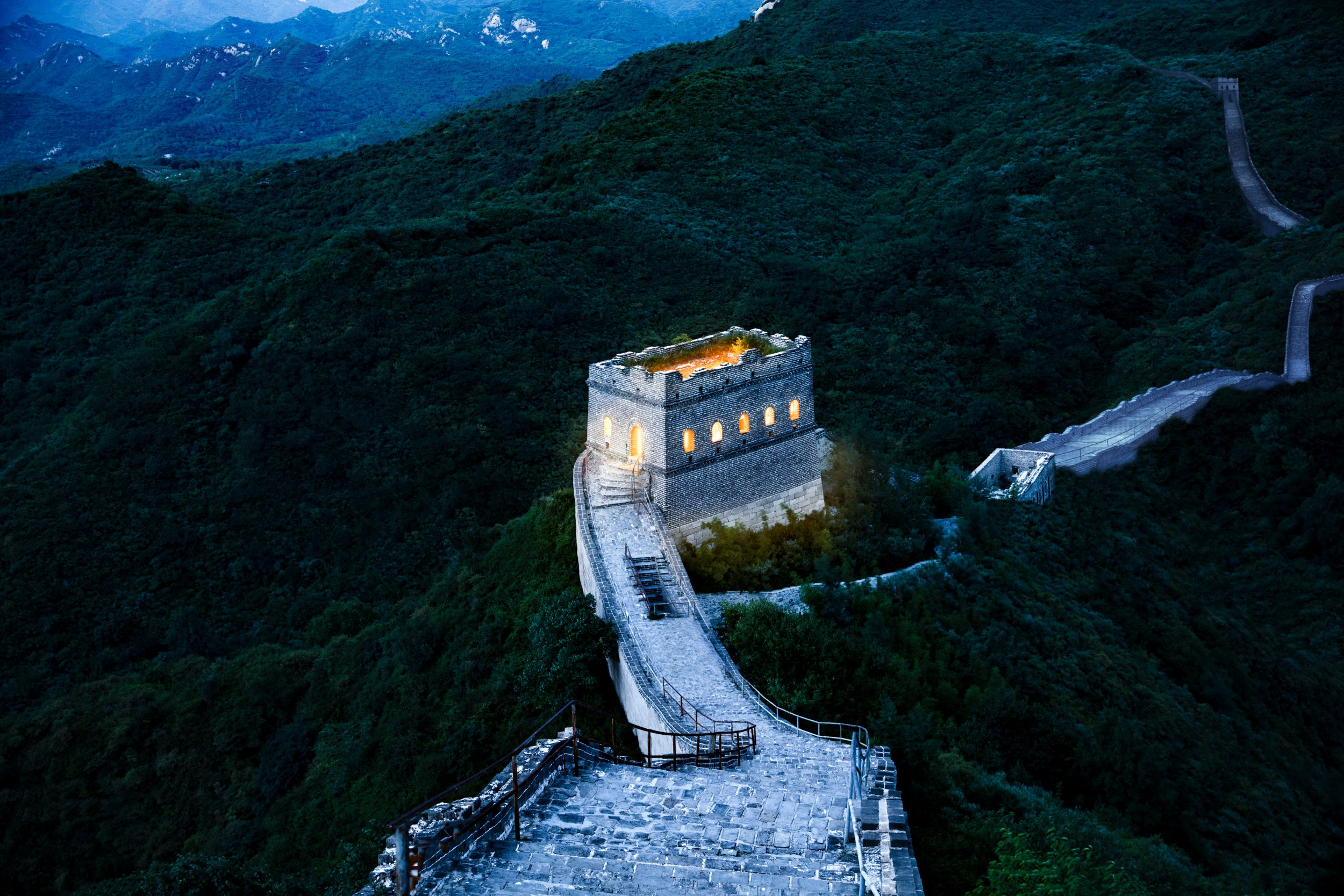 Airbnb is offering the chance to win a night on the Great Wall of China