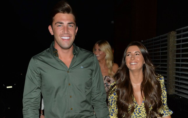 Mandatory Credit: Photo by Beretta/Sims/REX/Shutterstock (9779420b) Jack Fincham and Dani Dyer Jack Fincham and Dani Dyer out and about, Essex, UK - 04 Aug 2018 Jack Fincham & Dani Dyer seen arriving at Lokkum Restaurant in Essex