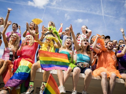Who is performing at Brighton Pride 2019 and what are the set times?