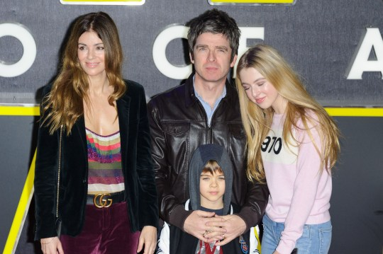 Mandatory Credit: Photo by James McCauley/REX/Shutterstock (5494732ap) Noel Gallagher and family 'Star Wars: The Force Awakens' film premiere, London, Britain - 16 Dec 2015