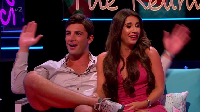 Dani is asked about photographs of her crying in her car during their interview with Caroline Flack, Dani reveals that she was happy crying after Frankie told Samira he loved her on 'Love Island: The Reunion'. Broadcast on ITV2 Featuring: Dani Dyer, Jack Fincham When: 05 Aug 2018 Credit: Supplied by WENN **WENN does not claim any ownership including but not limited to Copyright, License in attached material. Fees charged by WENN are for WENN's services only, do not, nor are they intended to, convey to the user any ownership of Copyright, License in material. By publishing this material you expressly agree to indemnify, to hold WENN, its directors, shareholders, employees harmless from any loss, claims, damages, demands, expenses (including legal fees), any causes of action, allegation against WENN arising out of, connected in any way with publication of the material.**