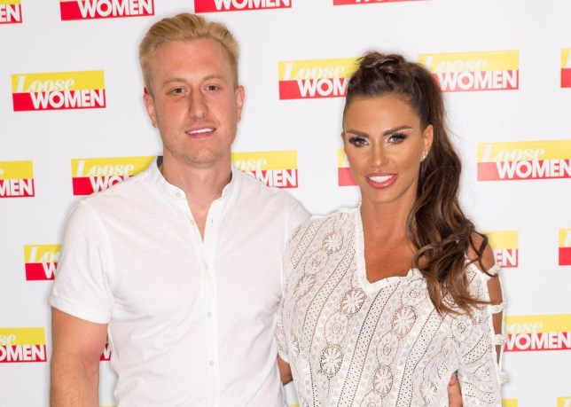 EDITORIAL USE ONLY. NO MERCHANDISING Mandatory Credit: Photo by Ken McKay/ITV/REX/Shutterstock (9766456co) Kris Boyson and Katie Price 'Loose Women' TV show, London, UK - 20 Jul 2018 Celeb chat: Katie asks the panel for advice! After the break, Katie will be clearing up even more rumours and telling us all about her new man, Kris Boyson. She'll be telling us about her plans for the future and seeking the panel's advice on how to move on from her heartbreak.