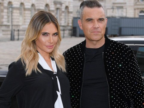 Robbie Williams and Ayda Field announce they've welcomed a daughter by surrogate