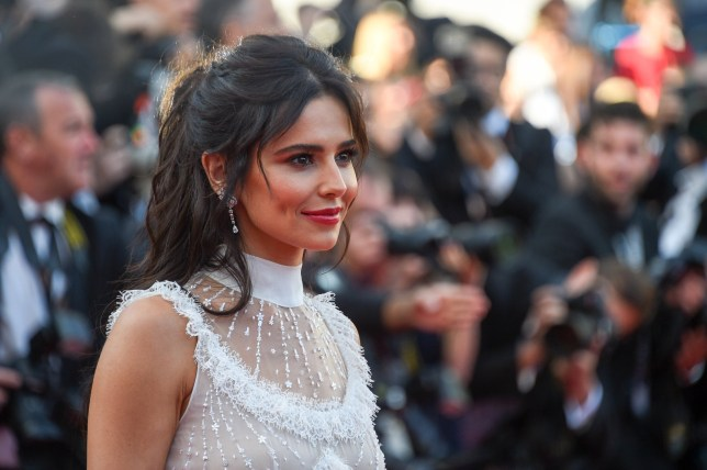 """CANNES, FRANCE - MAY 11: Cheryl Cole attends the screening of """"Ash Is The Purest White (Jiang Hu Er Nv)"""" during the 71st annual Cannes Film Festival at Palais des Festivals on May 11, 2018 in Cannes, France. (Photo by Stephane Cardinale - Corbis/Corbis via Getty Images)"""